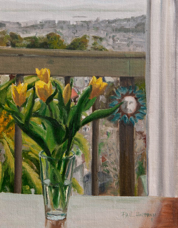 Tulips With View